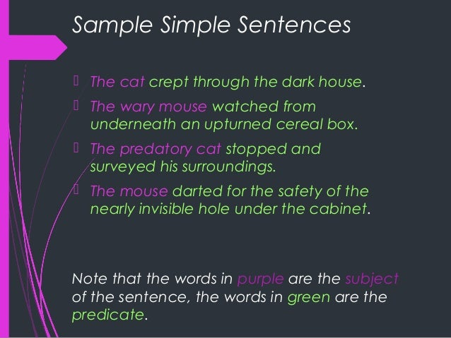 difference between simple compound and complex sentences pdf