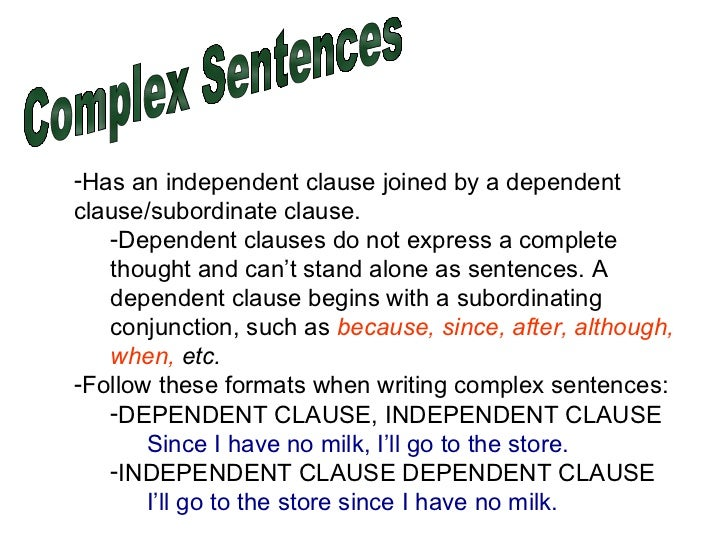 Simple Compound Complex Compound Complex Sentences – Simple and Complex Sentences Worksheet