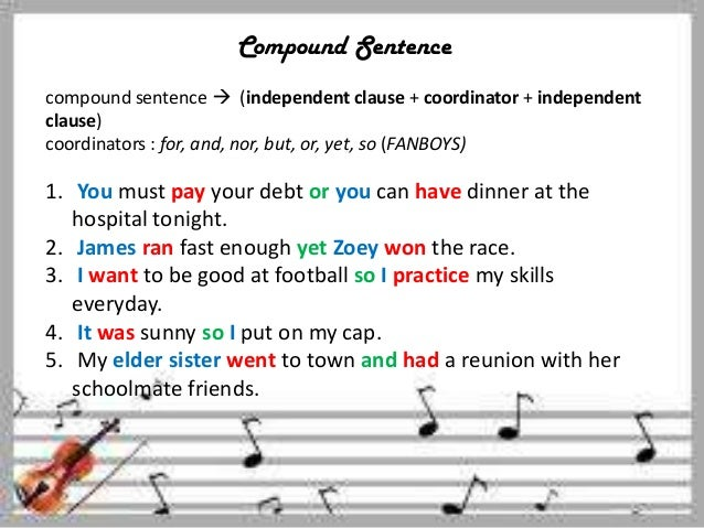 compound sentences Check your understanding of the characteristics of a compound sentence with an interactive quiz and printable worksheet these practice questions.
