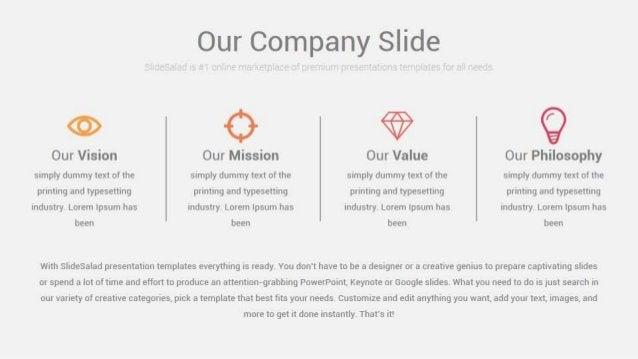 Simple Free PPT Presentation Theme With Simple Design