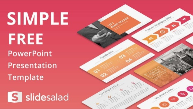 simple free ppt presentation theme with simple design, Presentation templates