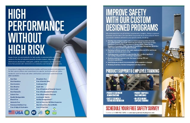 Cleaning & Maintenance for Wind Energy Industry Slide 2