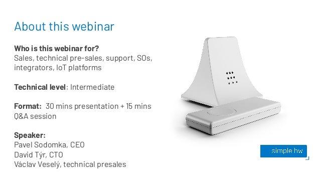 Simple Hardware embedded solutions  Slide 2