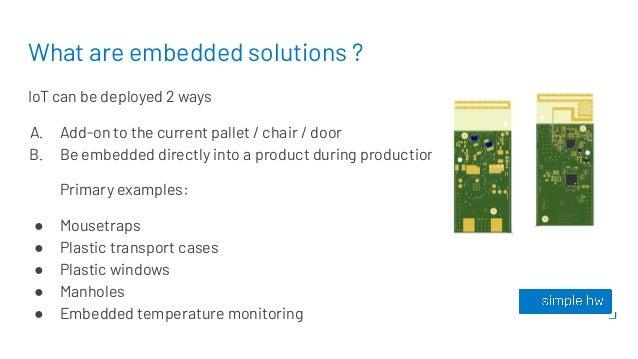 Simple Hardware embedded solutions  Slide 3