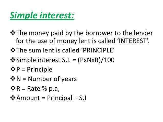 Simple interest & compound interest vedio Slide 2