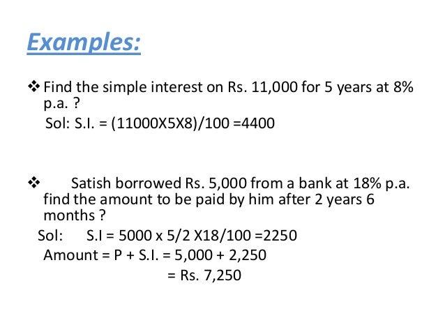 Simple Interest Compound Interest Vedio
