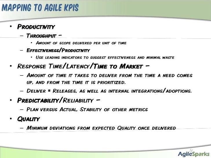 Simple Lean Agile KPIs Slide 3