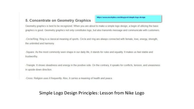 nike visual design principles Creative and effective logo designs have made companies more  some of the  best logos demonstrate this principle well, and nike, apple, fedex  a new  language, visual or verbal, must be couched in a language that is.