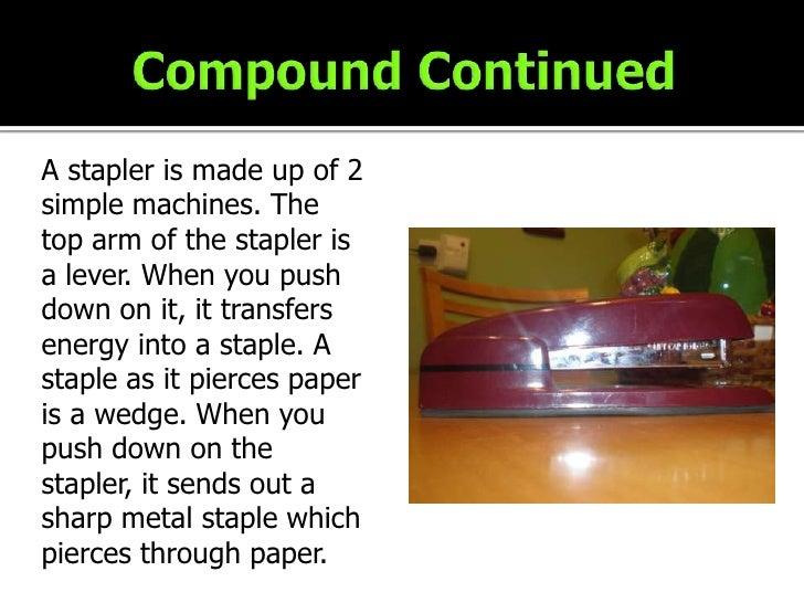 stapler simple machine