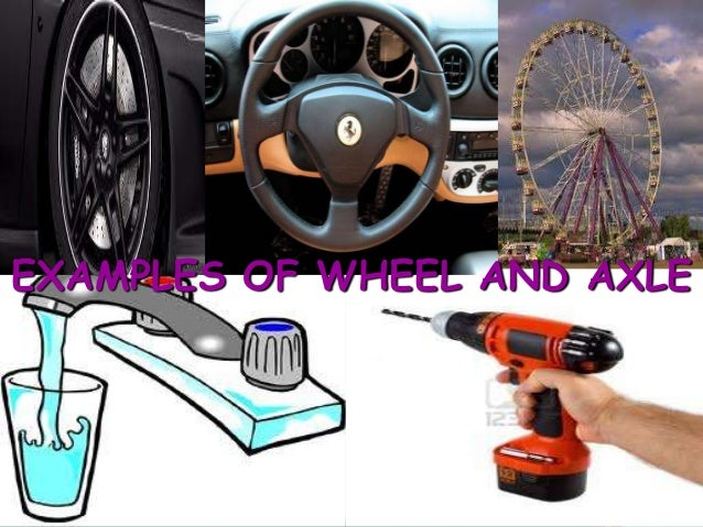 Examples Of Wheel And Axle simple machines