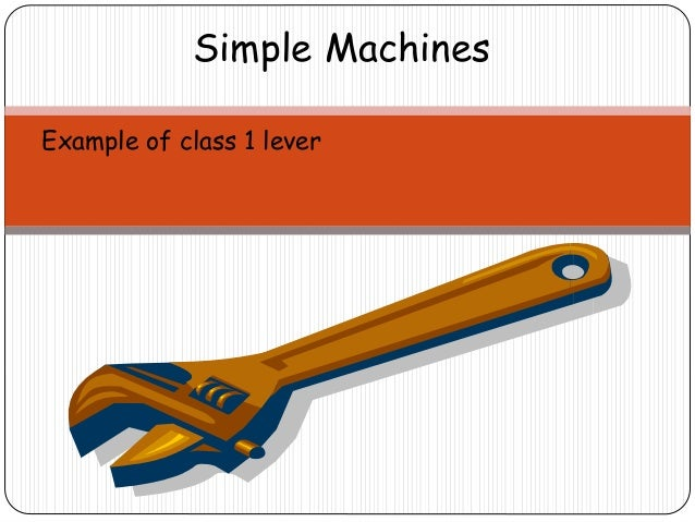 Simple Machines: The Lever