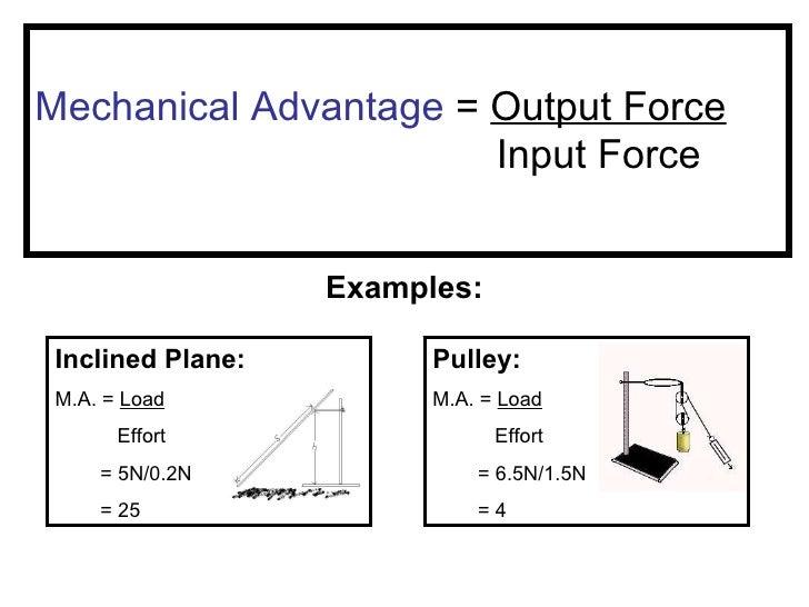 Simple Machines – Mechanical Advantage of Simple Machines Worksheet