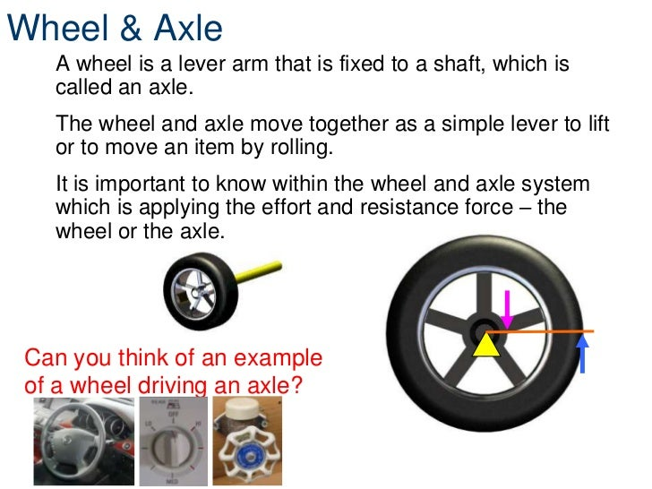 how to make a wheel and axle for kids
