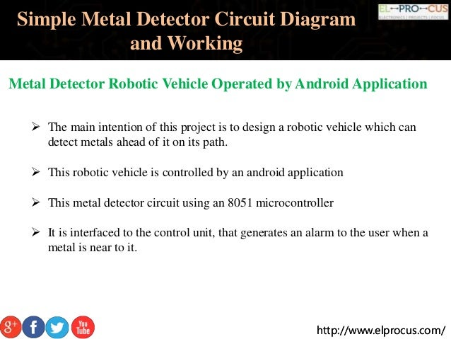 simple metal detector circuit pdf