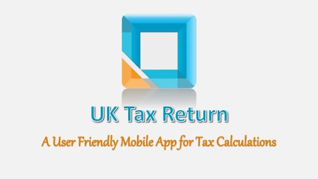 a user friendly mobile app for tax calculations