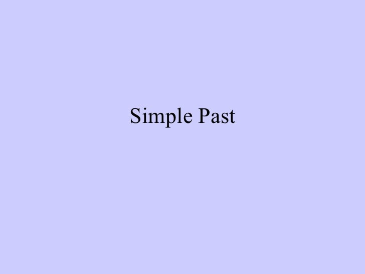 Simple Past