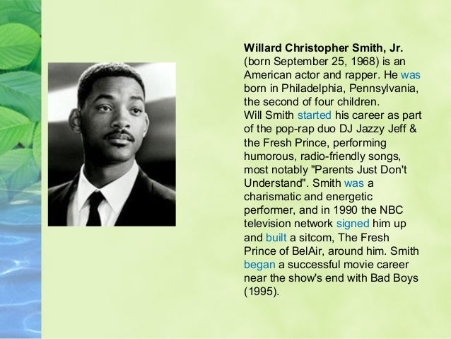 Simple past biographies