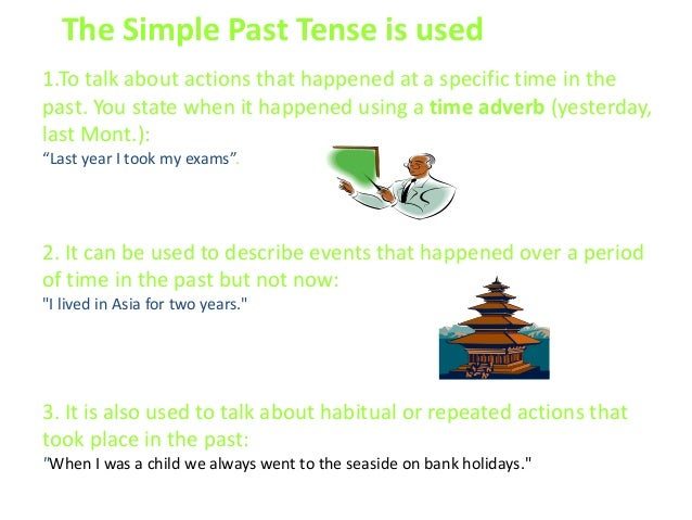 Learning About Words Past Tense