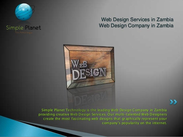 Simple planet technology best web solutions company in for Architecture firms in zambia