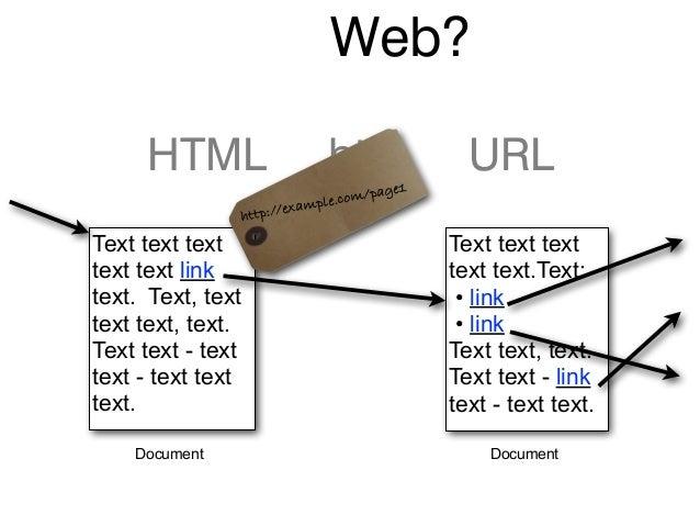 Web? HTML http URL Text text text text text link text. Text, text text text, text. Text text - text text - text text text....