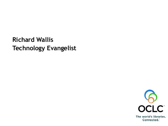 Richard Wallis Technology Evangelist Linked Data