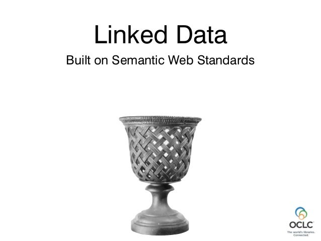 Linked Data Built on Semantic Web Standards All about identifying and linking things Linked Data Thing