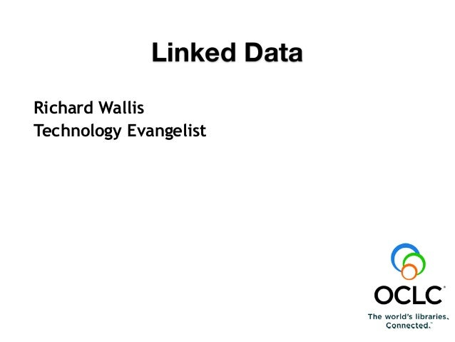 Richard Wallis Technology Evangelist The Simple Power Of The Link