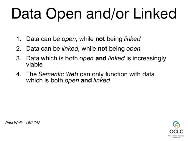The Simple Power of the Link - ELAG 2014 Workshop