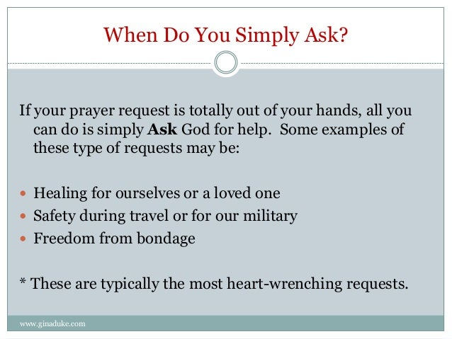 Simple Method for Organizing Your Prayer Requests