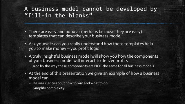 Simple rules for business models Slide 3