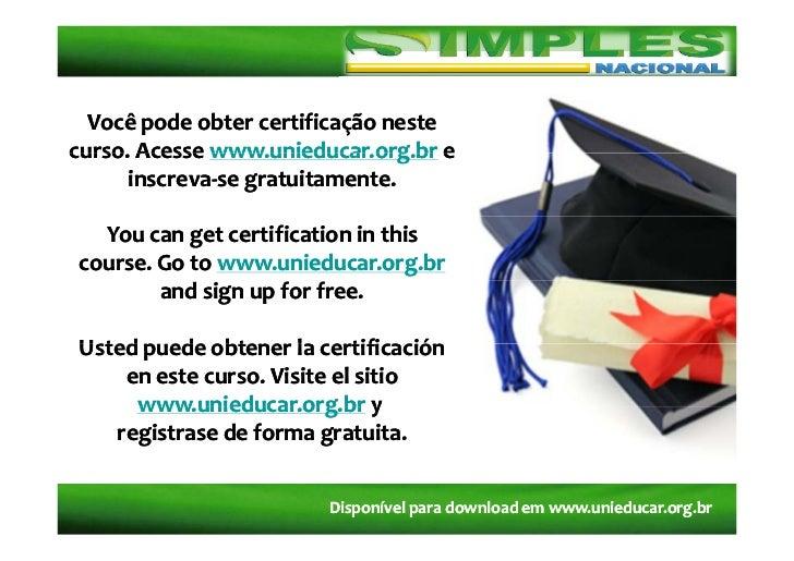 Vocêpodeobtercertificaçãonestecurso Acessewww unieducar org br ecurso.Acessewww.unieducar.org.brcurso.Acesseww...