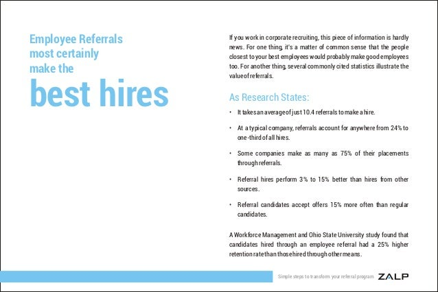 Simple Steps To Transform Your Employee Referral Program
