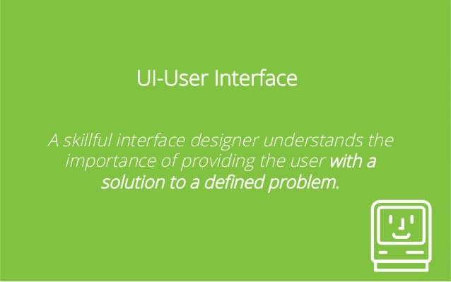 How do we get to UI?   1. Problem has been identified 2. User flows and stories are made 3. Experiments to validate person...
