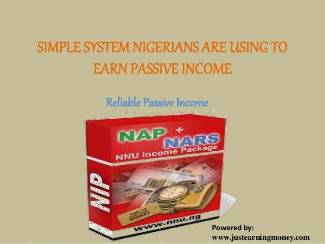 Simple system nigerians are using to earn passive income