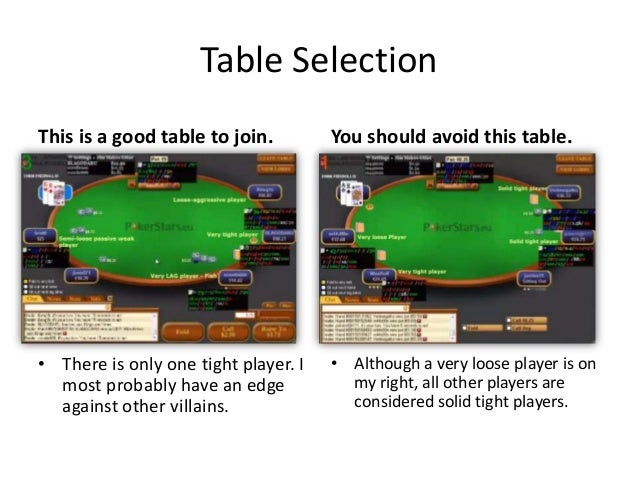 Simple poker tips