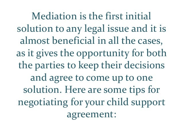 Mediation is the first initial solution to any legal issue and it is almost beneficial in all the cases, as it gives the o...