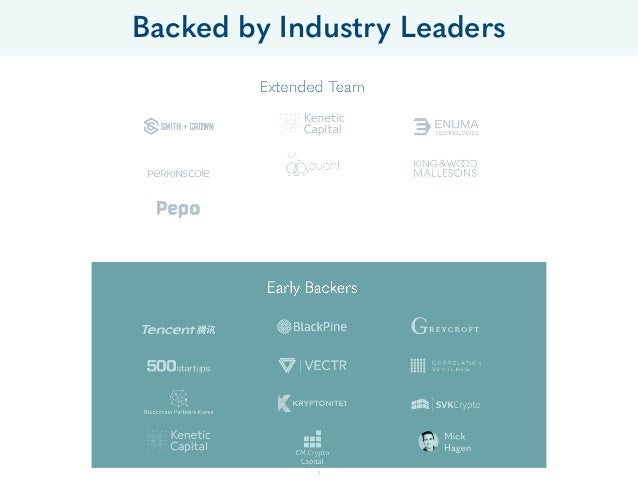 Backed by Industry Leaders 7