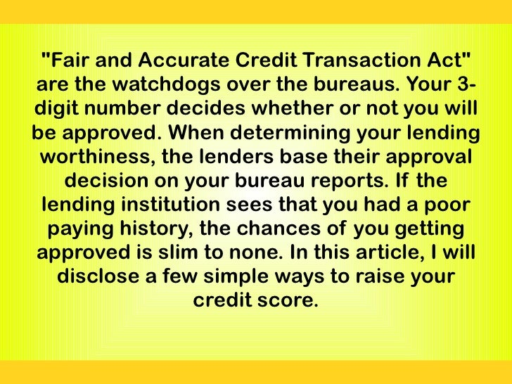 Car Interest Rate Based On Credit Score >> Simple ways to help increase your credit score by over 100 points