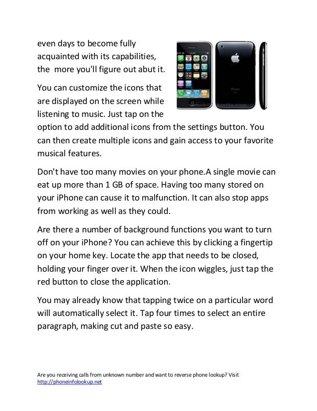 Simple ways to maximize the use of you i phone