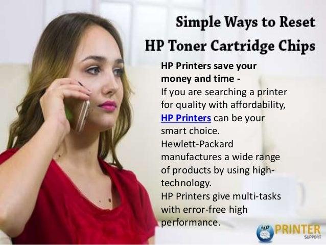 Simple ways to reset hp toner cartridge chips