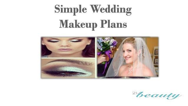 Simple Diy Wedding Makeup : Simple wedding makeup plans