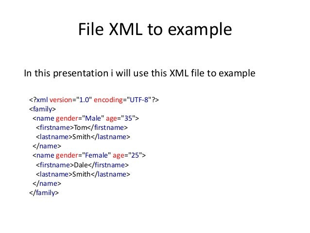 Simple Xml In