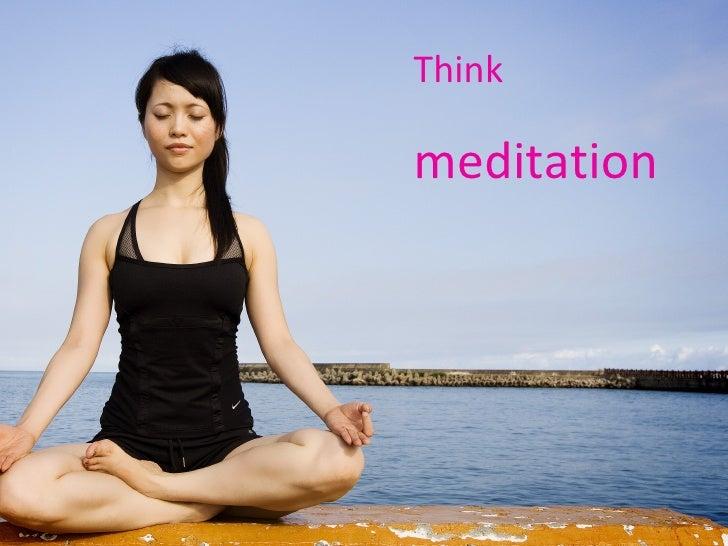 Think  meditation