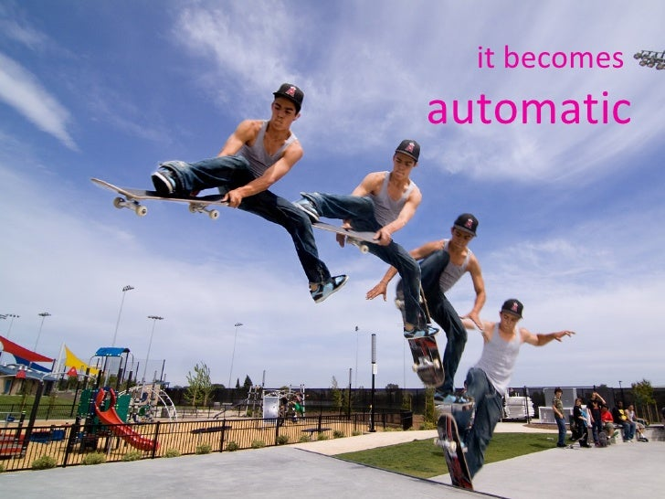 it becomes  automatic