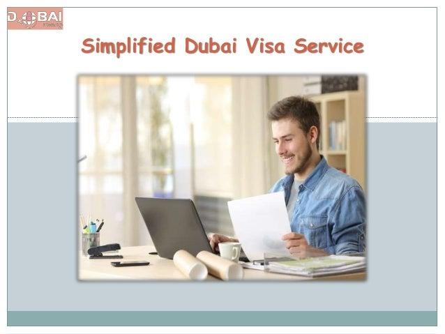 Simplified Dubai Visa Service