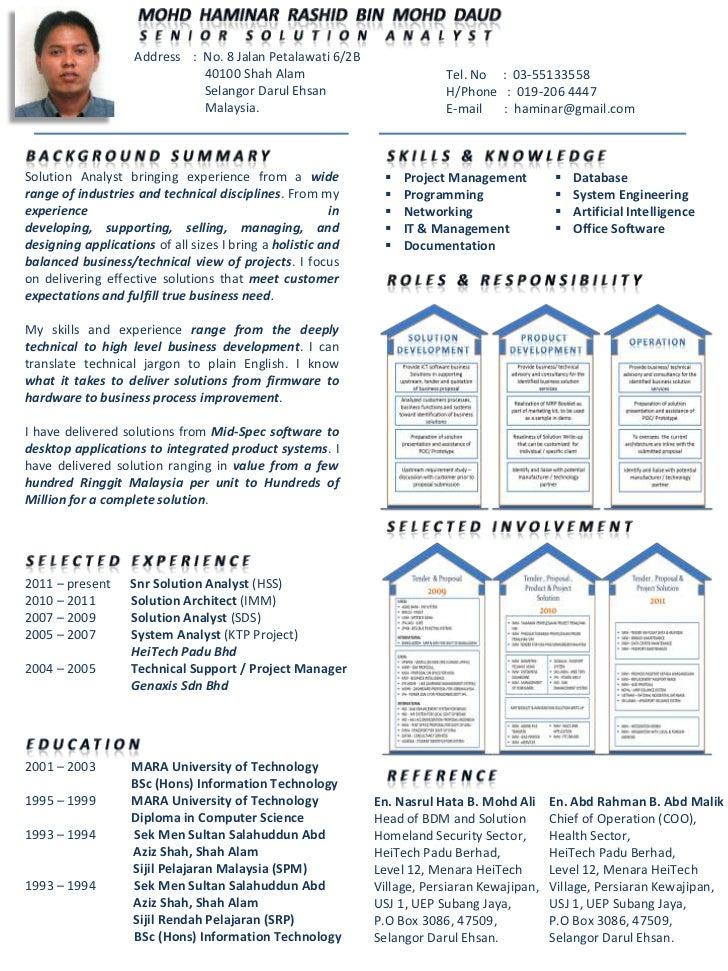 Resume In English Programmer 1c