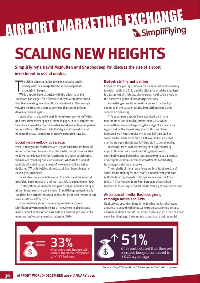 EXCHANGE MARKETING IRPORT  MARKETING  A  SCALING NEW HEIGHTS SimpliFlying's David McMullen and Shubhodeep Pal discuss the ...