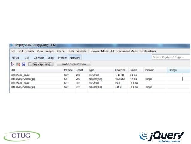 Simplify AJAX using jQuery
