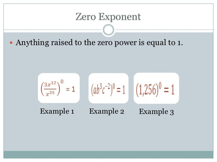 Simplifying expressions with negative and zero exponents
