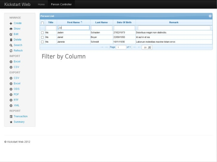 jqGrid filter toolbar example - JSFiddle